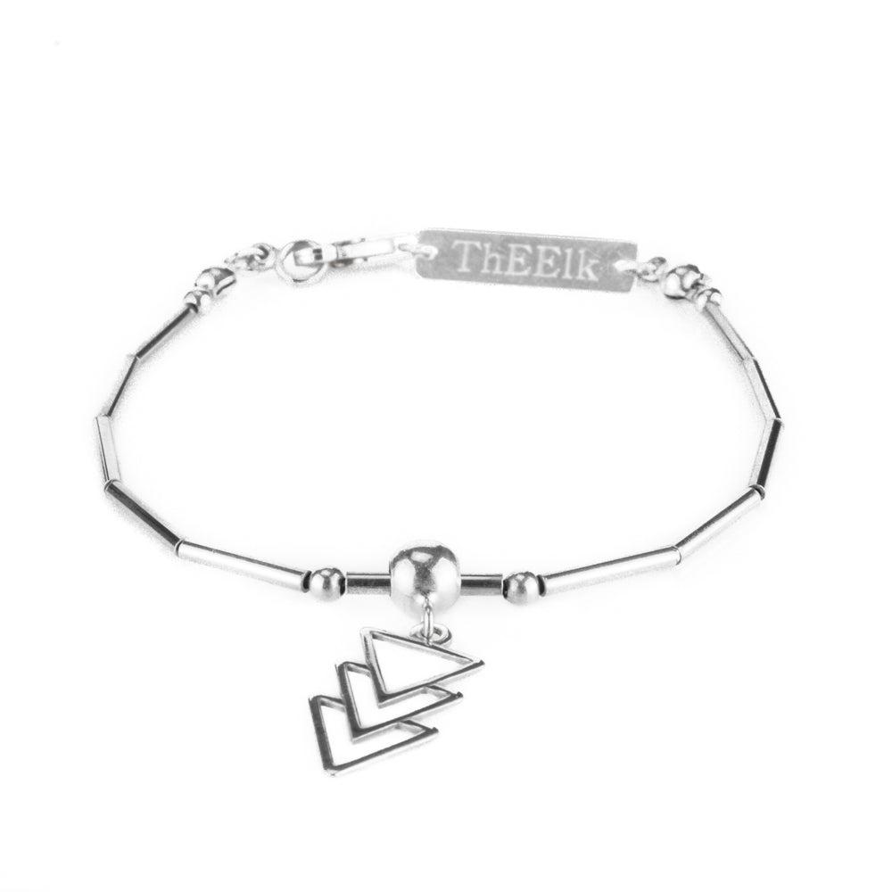 Three Bright Triangles Bracelet