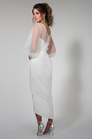 Anissa Midi White by Tina Holy