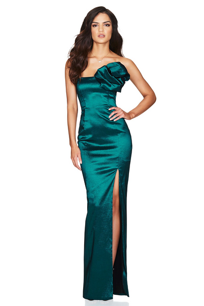 Candice Gown Teal by Nookie