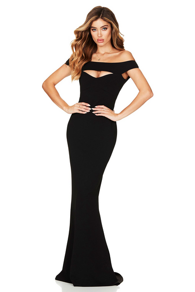 Heartbreaker Gown Black by Nookie