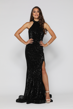 Valerie Gown Black by YSS The Label