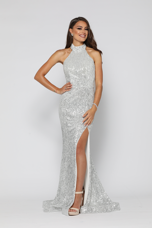 Valerie Gown Silver by YSS The Label