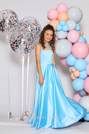 JUNIOR Azure Dress by Jadore Junior