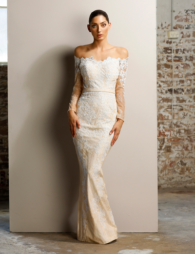 Opera Gown by Jadore