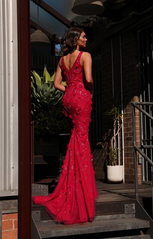 Claudette Gown by Jadore