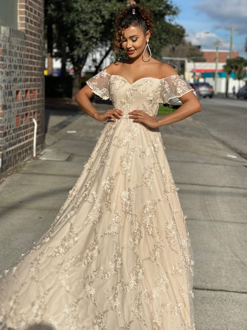 Gianna Gown by Jadore