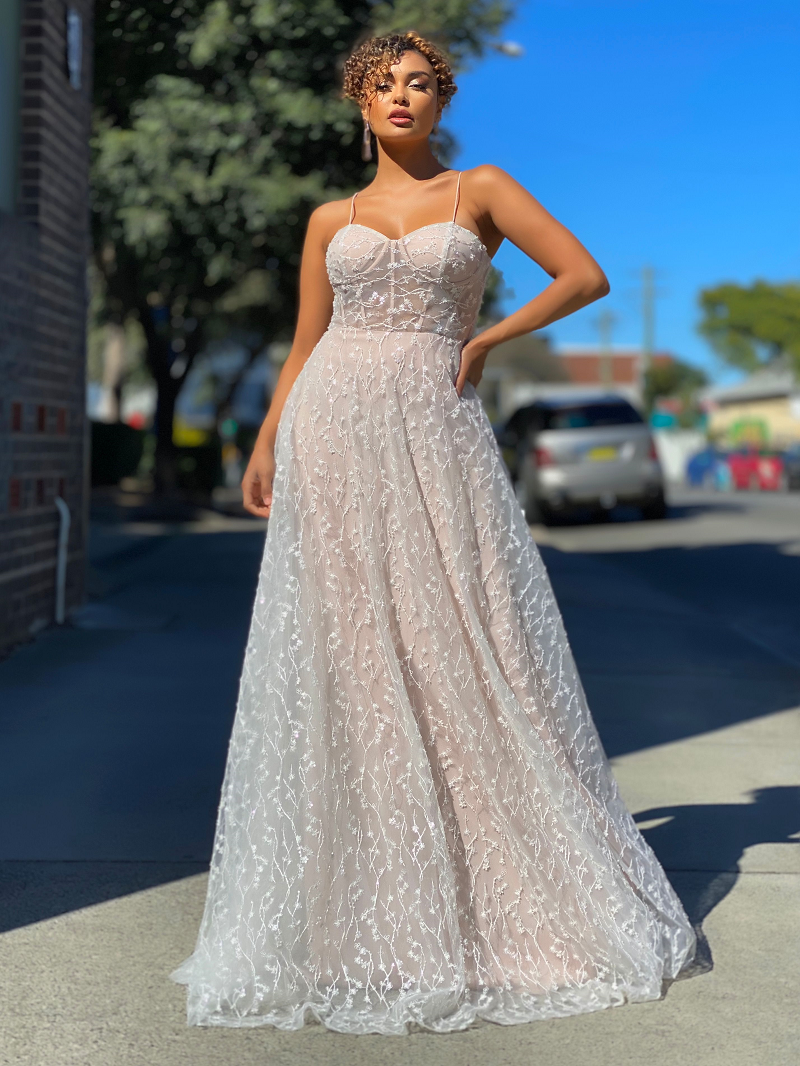 Clair Gown by Jadore