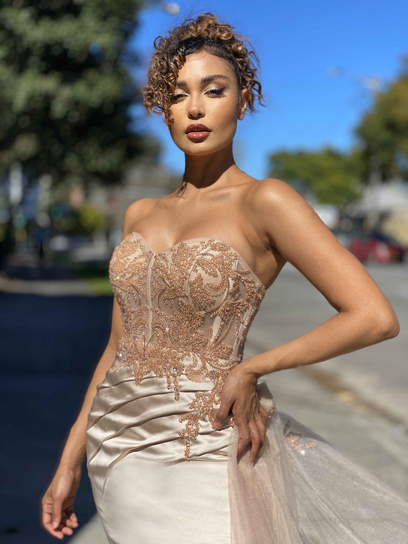 Giovanna Gown by Jadore