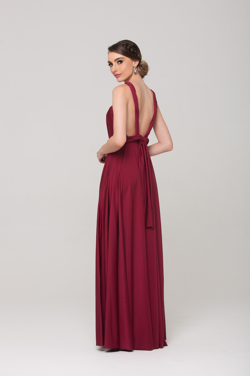 Wrap Dress Merlot by Tania Olsen