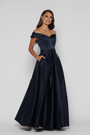 Parisian Gown Navy by YSS The Label — Windsor   Lux 9fd536552