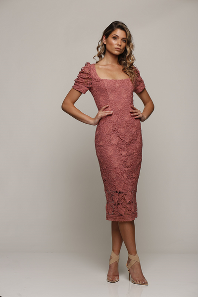 Passion Dress Rose Pink by Romance the Label