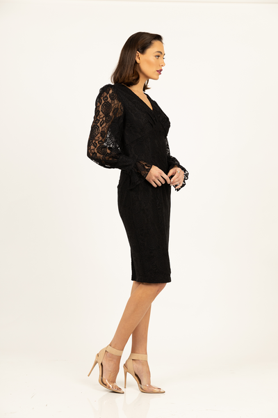 Jadore Sleeve Dress by Romance