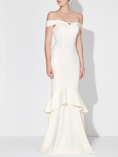 Rosetta Gown Ivory by Love Honor