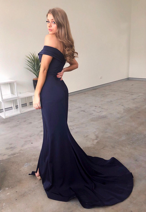 Chelsea Gown Navy by Tina Holy