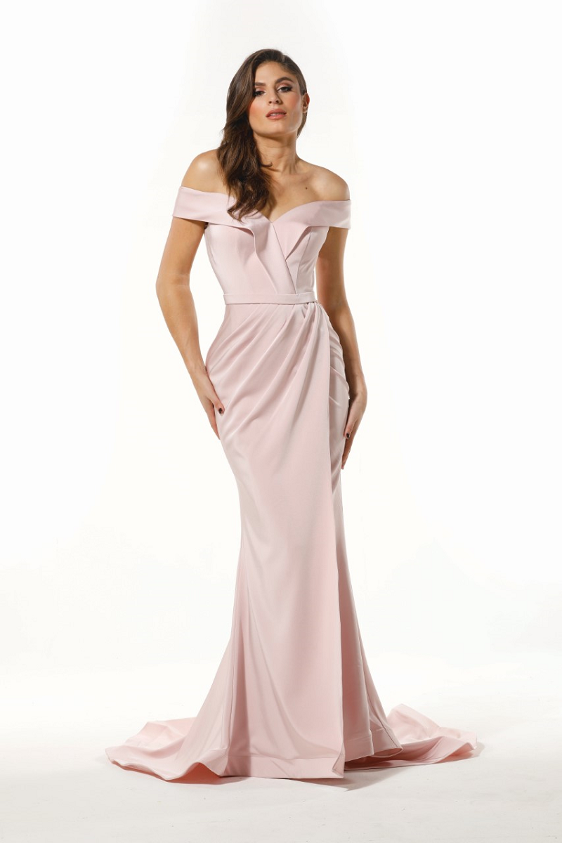 Isabelle Gown Tea Rose by Tina Holy