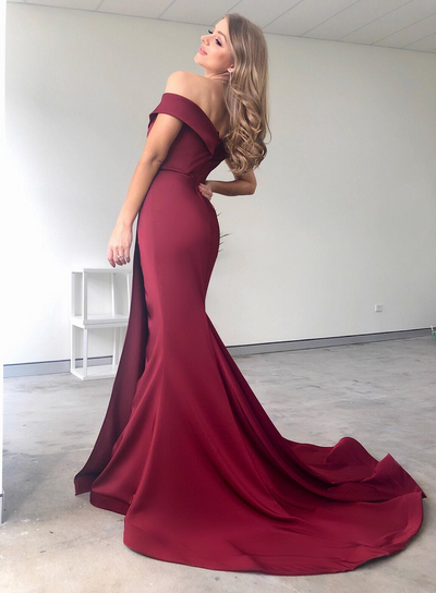 Isabelle Gown Wine by Tina Holy