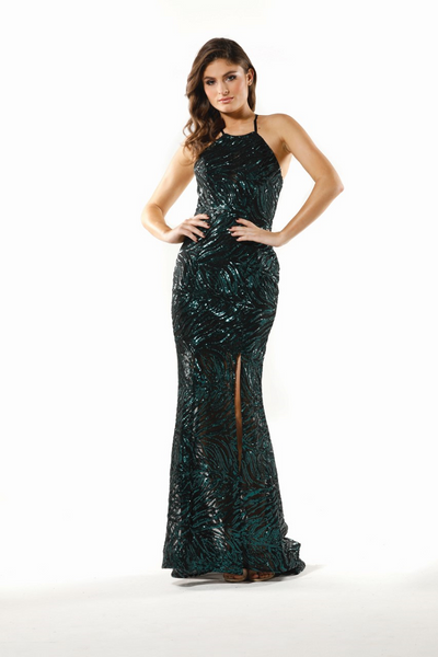 3353c6590ccf Nicola Gown Emerald by Tina Holy ...