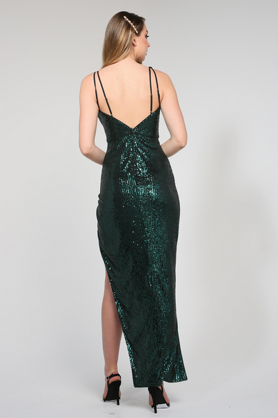Adele Gown Emerald by Tina Holy