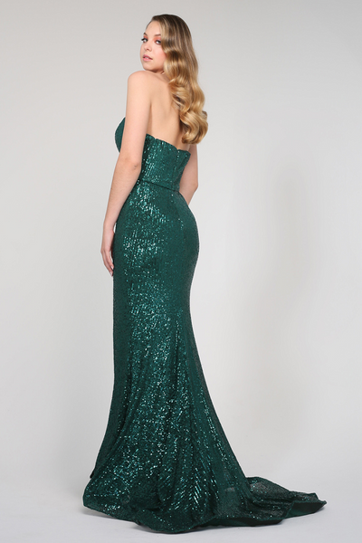 Karolina Gown Emerald Green by Tina Holy