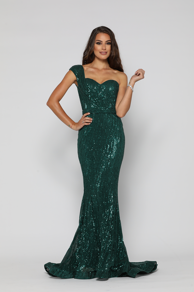 35164f961d0a Venetian Gown Emerald Green by YSS The Label ...