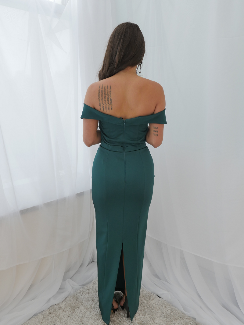 Paris Dress Emerald by YSS The Label