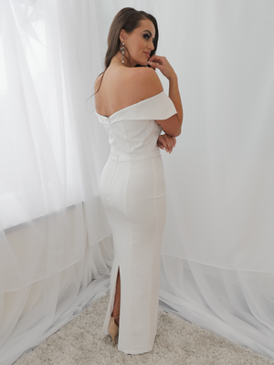 Paris Dress Ivory by YSS The Label