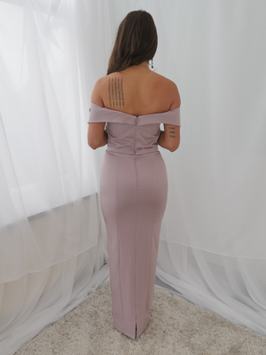 Paris Dress Mauve by YSS The Label