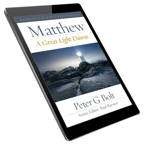 Matthew: A Great Light Dawns