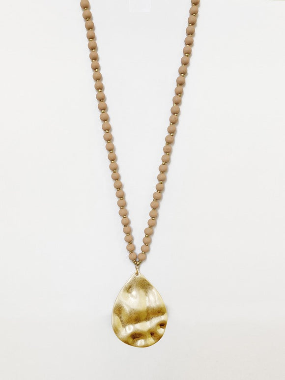 1416-PNK Collier Caracol