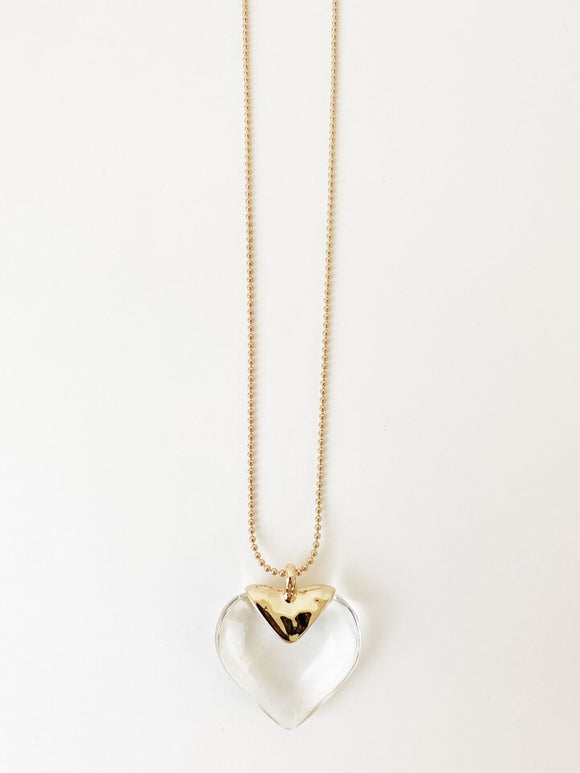 1442-GLD Collier Caracol
