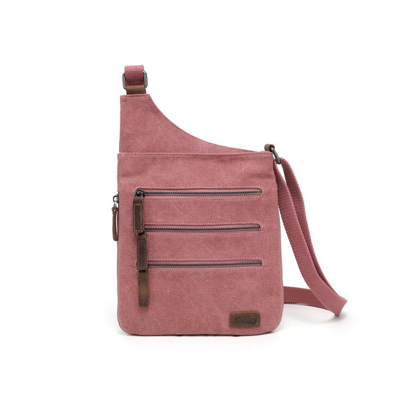 Sac 3 Zippers Rose (DaV SSB 550)