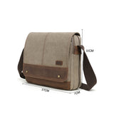 Sac Messager Gris MB 8848
