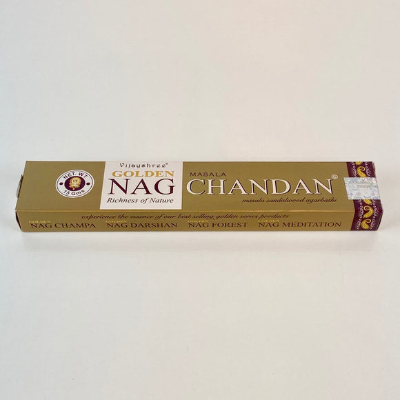 Encens Golden Nag - Chandan (Santal)