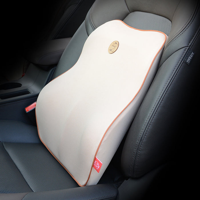 Orthopedic Lower Back Cushion (100% Memory Foam - Excellent Lower Back Support )