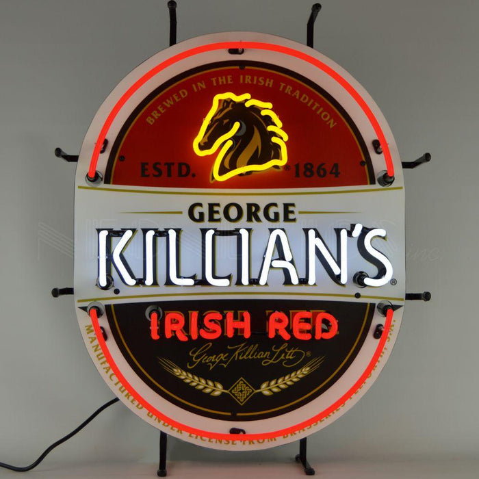 KILLIANS IRISH RED BEER NEON SIGN