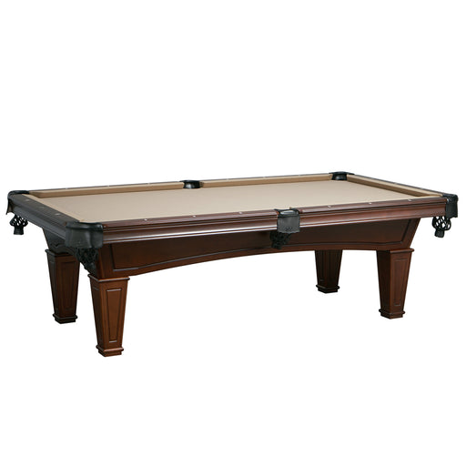 The Washington 7 Foot Pool Table Antique Walnut