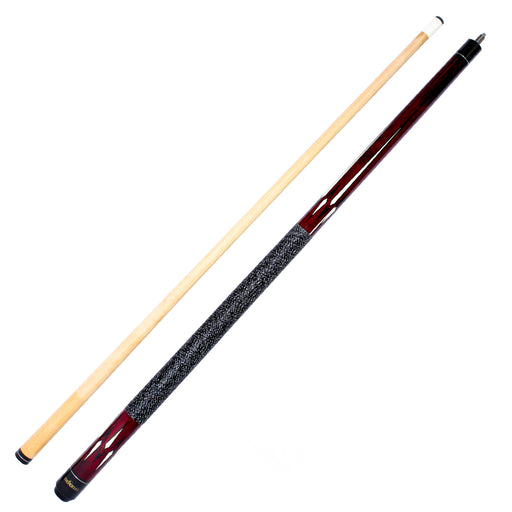 The Hustler Series 58-in  Two Piece Cue Red