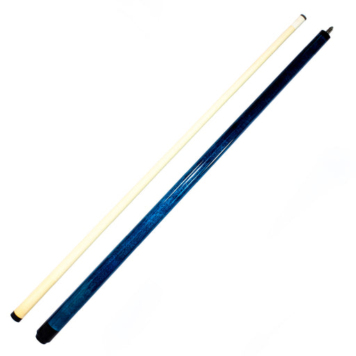 The Premier Series Painted Two Piece Cue Blue