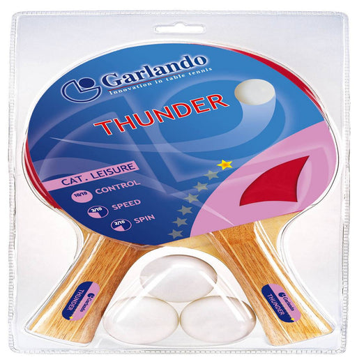 Garlando 2-player Table Tennis Racket Set