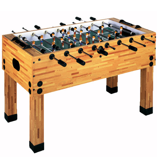 The Butcher Block Foosball Table
