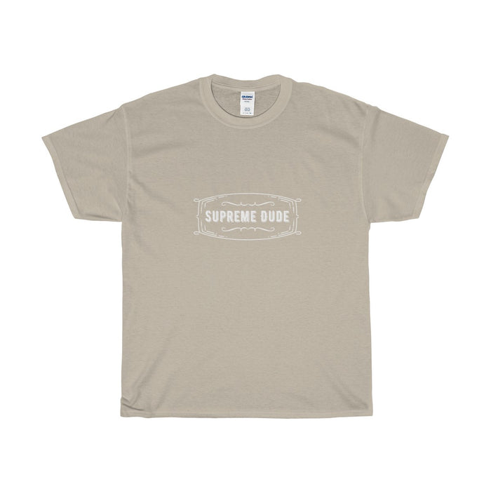 "Official ""Supreme Dude"" Cotton T-Shirt"