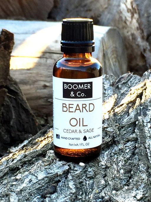 Cedar and Sage Beard Oil