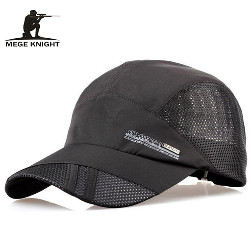 Breathable Mesh Patchwork Baseball Cap