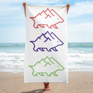 Triple Logo Towel