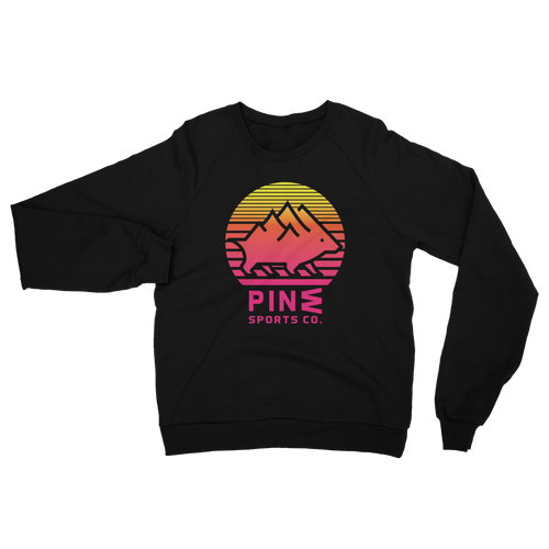Sunset Unisex Fleece Pullover