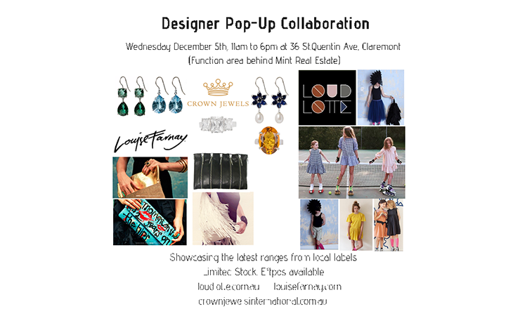 POP UP Collaboration – December 5th