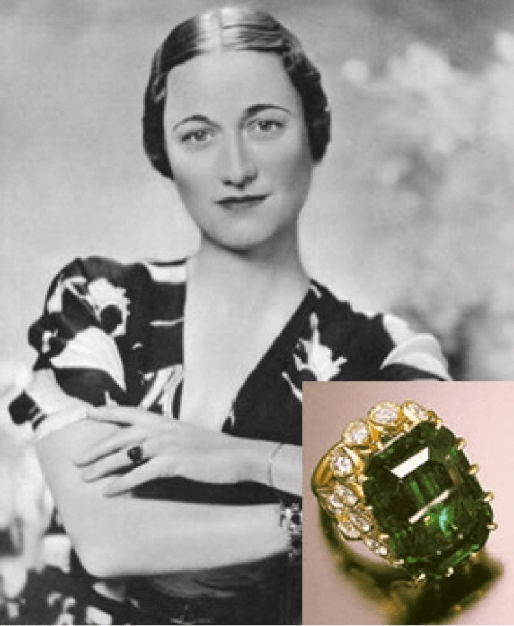 Wallis Simpson and her Cartier panther bangle designed by Jeanne Toussaint