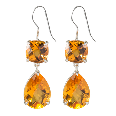 Deluxe Citrine earrings