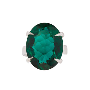 Timeless Green Quartz Ring