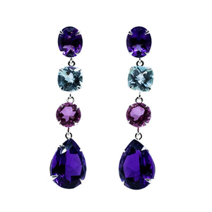 Whimsical Amethyst Earrings